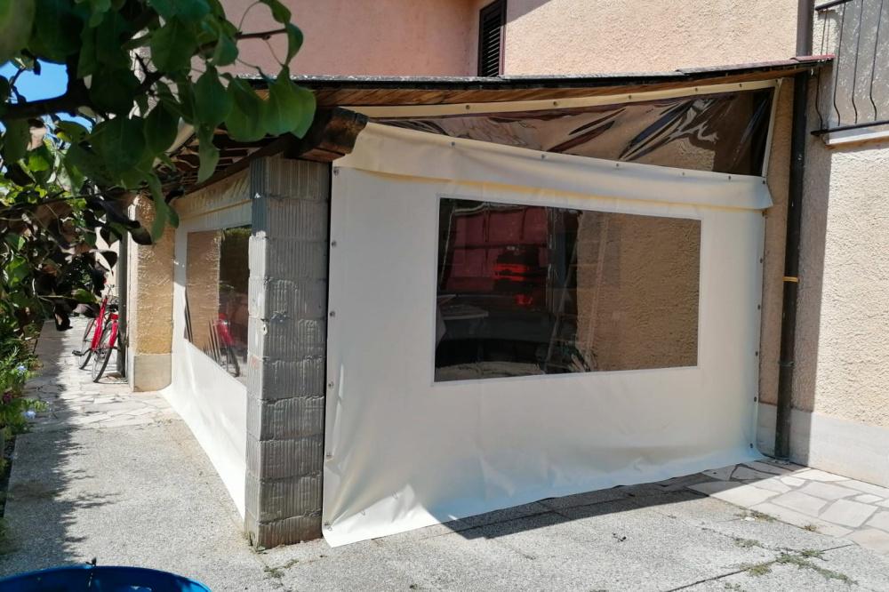 chiusura laterale per abitazione privata