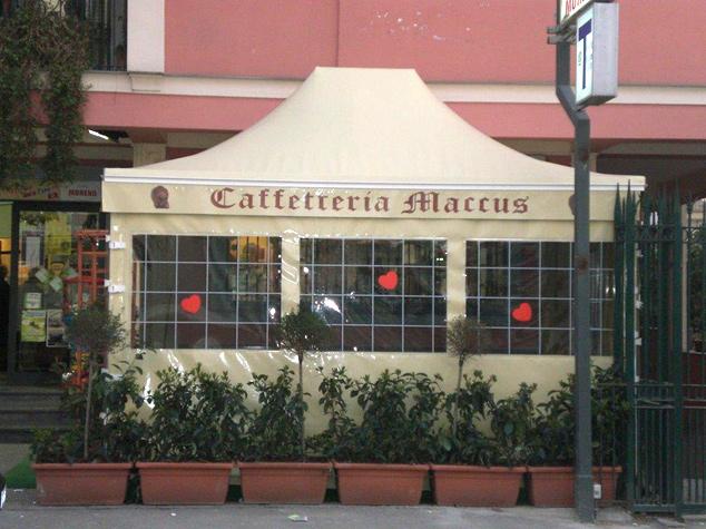 chiusure laterali per ristoranti