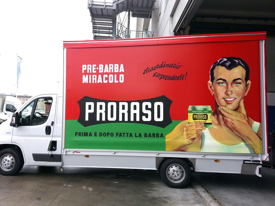 telone personalizzato camion