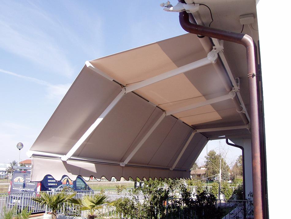 tenda sole motorizzata bracci orientabili